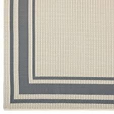 solid area rugs with borders solid border borderline gray beige indoor outdoor area rug