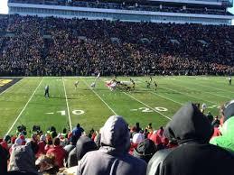Kinnick Stadium Rows Seating Chart Kinnick Stadium Section 108 Home Of Iowa Hawkeyes