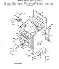 ge wb44x5082 oven bake element appliancepartspros com part diagram