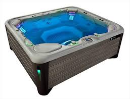 image of a highlife grandee hot tub full of water with no people