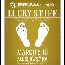 """Bolton StageLight Theatre Presents Musical Comedy """"Lucky Stiff,"""" March 5-10  