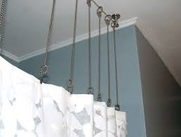 Ceiling Mounted Shower Curtain Rods shower curtains belmont sife 2992 by xevi.us