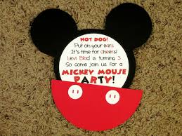 Mickey Mouse Invitations Love To Be In The Kitchen
