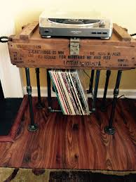 vinyl record furniture. DIY Vinyl Record Storage Homemade Made By Kevin Baucom With Industrial Pipe And Furniture