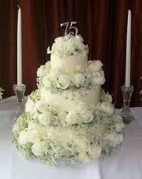 My Parents 75th Wedding Anniversary Cake Cakecentralcom