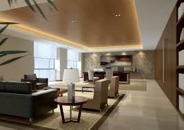 contemporary office interior design ideas. Full Size Of Interior: Executive Class Office Interior Design With Brown Leather Chairs And Contemporary Ideas