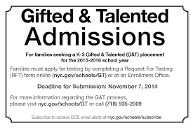 a brighter idea opening up nyc s gifted and talented program