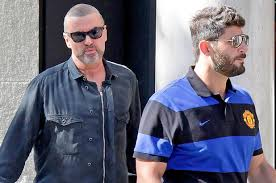 george michael then now. Exellent Michael George Michael And His Boyfriend Fadi Fawaz In 2012 On Then Now
