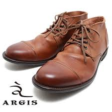 product made in argis algie s 12103 good quality leather chukka boots brown men