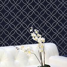Wall Stencil Patterns Stunning Interior Wall Stencil Designs Wall Stencils Stencil Designs And