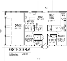 neoteric 2000 sq ft house plans bungalow 14 home act