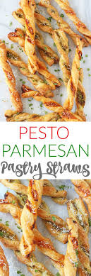Pesto Parmesan Pastry Straws. Kid Party FoodsHen ...