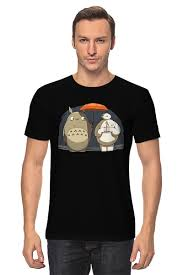 Футболка классическая <b>Totoro x</b> Baymax #696274 от trugift по ...