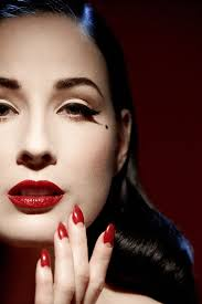 dita von teese make up tips how to get the perfect new year s eve look mirror