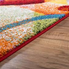 reviews bright blue area rug unique geometric rugs ruglots