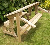 Folding Bench To Picnic Table Instructions Page 1Fold Bench
