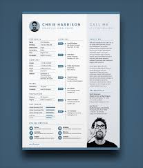 Resume Psd Template Free Best of 24 Fresh Free Resume CV Design Templates 24 In Word PSD Ai