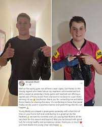 The panthers remain undefeated after 10 rounds while the. Matt Burton S Heartwarming Act After Young Fan S Signed Footy Boots Get Stolen Sportbible