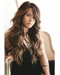 Side Bangs With Long Hair Layered Hairstyles Fringe Cute Women