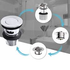 drain without overflow restroom fixtures janitorial sanitation supplies luxhomespace bathroom sink drain stopper faucet vessel