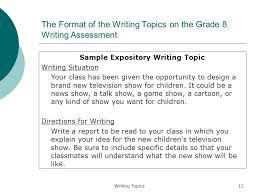 8th Grade Essay Prompts Order Custom Essay Online 8th Grade Expository Essay Topics