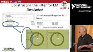 Cavity Filter Design Basics Design Example Rf 5 Cavity Helical Filter