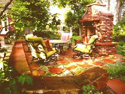 patio ideas with fireplace contemporary patio tasty outdoor backyard patio ideas with great brick fireplace