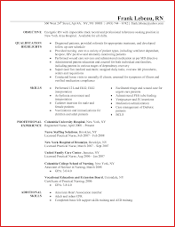 Sample Nurse Resume Unique Rn Resume Sample personel profile 18