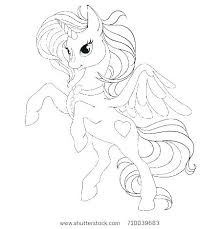 Coloring Pages Unicorns Free Printable Unicorn Coloring Page From