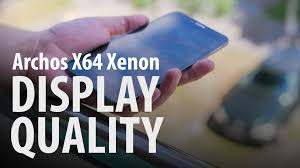 Archos 64 Xenon : Display Quality ...