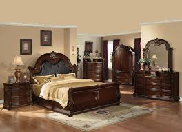 Sleigh Bedroom Suites Acme 10310q Anondale 4pcs Traditional Cherry Queen Bedroom Set