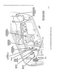 Connector ground splice location page 49 2004