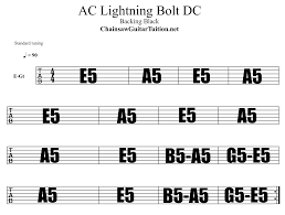 lighting cords. ACDC Style Backing Track Lighting Cords