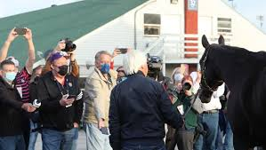 Kentucky derby winner medina spirit was treated with an antifungal ointment containing the steroid betamethasone that caused the horse to fail a postrace drug test, trainer bob baffert said. Baffert Says Derby Winner Medina Spirit Doing Well Has Heart Of Champion America S Best Racing
