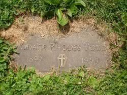 Grace Rhodes Todd (1897-1959) - Find A Grave Memorial