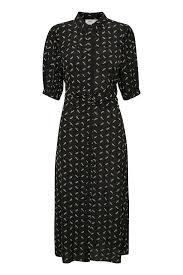 Gestuz Black <b>flower pattern</b> BelinaGZ Dress – Shop Black flower ...