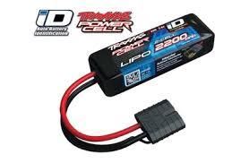 <b>Аккумулятор Traxxas</b> 2200mah 7.4v 2-Cell 25C LiPO <b>Battery</b> (iD Plug)