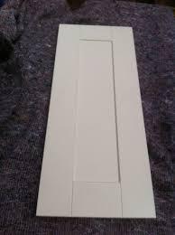 matt ivory cream shaker kitchen unit cabinet cupboard doors fits b q mfi