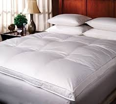 twin bed top view. Plain View Luxury DownTop Duck Featherbed Twin  Oversized XL Bedding In Bed Top View V