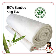 Bamboo Quilt Batting - King Size - Sew Easy & Bamboo Quilt Batting - King Size Adamdwight.com