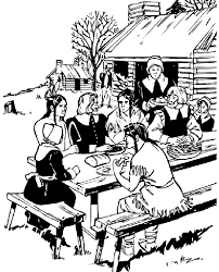 Small Picture Thanksgiving Feast Coloring Page crayolacom