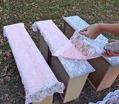 painting furniture ideas. Transform Furniture With Lace And Spray Paint. Painting Ideas