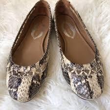 Elie Tahari Womens Ballet Flats Reptile 36 5 6 5