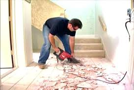 remove floor glue from concrete how