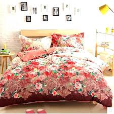 red fl bedding fl duvet covers king red comforter cover and white sets grey size fl red fl bedding
