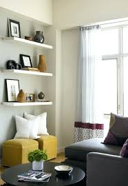 bookshelves in living room decor