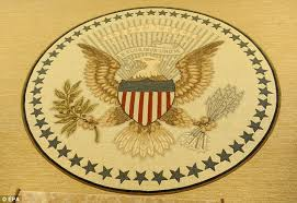 obama oval office rug. Putting Your Own Seal On It: Mr Obama Has Gone For A More Understated President Oval Office Rug N