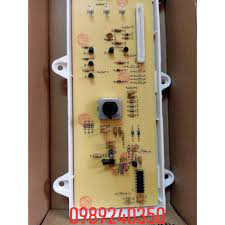 Bo mạch hiển thị máy giặt Sanyo AWD-700T lồng ngang, cửa trước