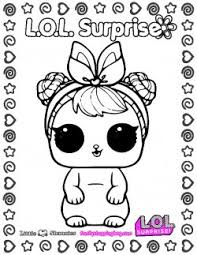 Lol Surprise Coloring Page Lol Surprise Coloring Pages Free