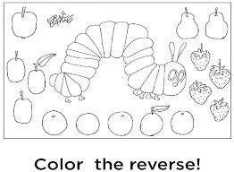 Hungry Caterpillar Butterfly Coloring Page Ebrokerageinfo